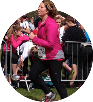 Julie Mitchell-Mehta - Running